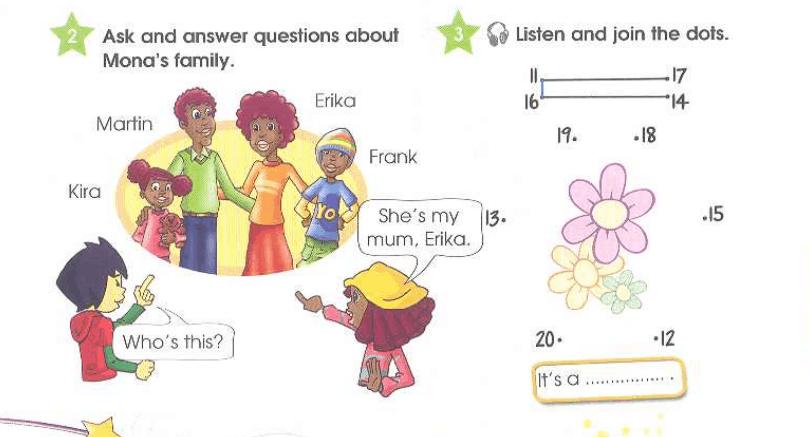 Упражнение 3 на странице 40 Starlight 3 Students Book Part 1