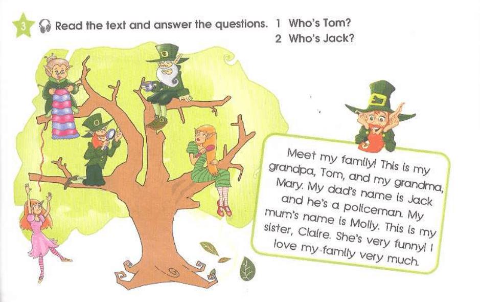 Упражнение 3 на странице 49 Starlight 3 Students Book Part 1